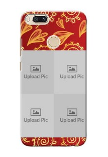 Xiaomi Mi 5X 4 image holder with mandala traditional background Design