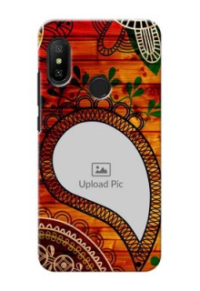 Mi A2 Lite custom mobile cases: Abstract Colorful Design