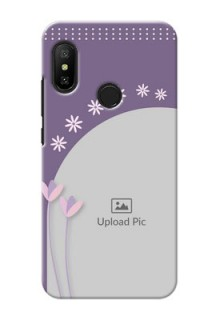 Mi A2 Lite Phone covers for girls: lavender flowers design