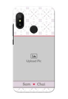 Mi A2 Lite Phone Cases with Photo and Ethnic Design