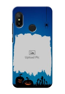 Mi A2 Lite mobile cases online with pro Halloween design