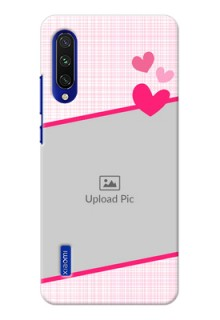 Mi A3 Personalised Phone Cases: Love Shape Heart Design
