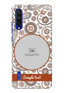 Mi A3 phone cases online: Abstract Floral Design