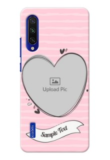 Mi A3 custom mobile phone covers: Vintage Heart Design