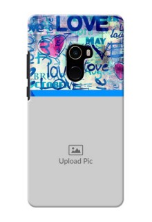 Mi MIX 2 Mobile Covers Online: Colorful Love Design