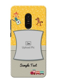 Xiaomi Note 4 Baby Picture Upload Mobile Cover Design