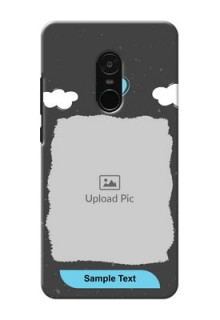 Xiaomi Note 4 splashes backdrop with love doodles Design