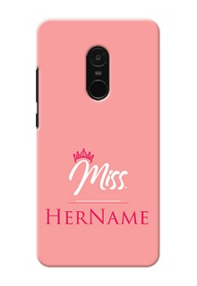 Xiaomi Note 4 Custom Phone Case Mrs with Name