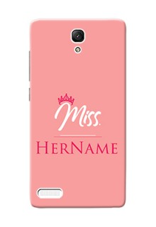 Xiaomi Note 4G Custom Phone Case Mrs with Name