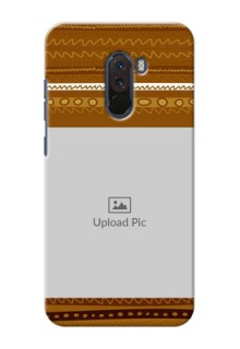 Poco F1 Mobile Covers: Friends Picture Upload Design