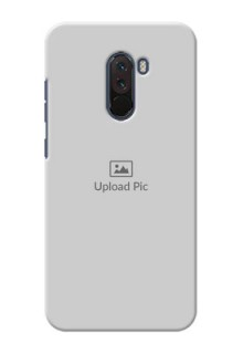 Poco F1 Custom Mobile Cover: Upload Full Picture Design