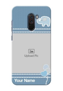 Poco F1 Custom Phone Covers with Kids Pattern Design