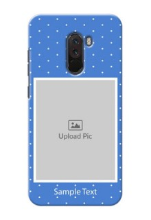 Poco F1 Personalised Phone Cases: polka dots design
