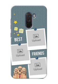 Poco F1 Mobile Cases: Sticky Frames and Friendship Design