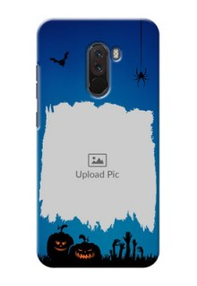 Poco F1 mobile cases online with pro Halloween design