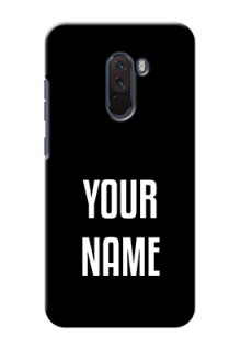 Xiaomi Pocophone F1 Your Name on Phone Case