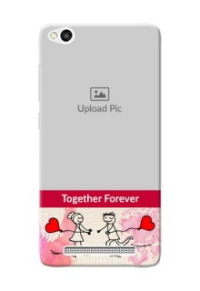 Xiaomi Redmi 3 Just You And Me Mobile Back Case Design