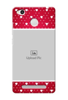 Xiaomi Redmi 3S Prime Beautiful Hearts Mobile Case Design