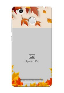 Xiaomi Redmi 3S Prime autumn maple leaves backdrop Design