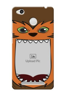 Xiaomi Redmi 3S Prime owl monster backcase Design