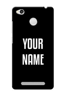 Xiaomi Redmi 3S Prime Your Name on Phone Case