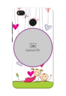 Xiaomi Redmi 4 Cute Babies Mobile Cover  Design
