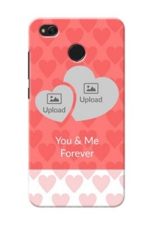 Xiaomi Redmi 4 Couples Picture Upload Mobile Cover Design