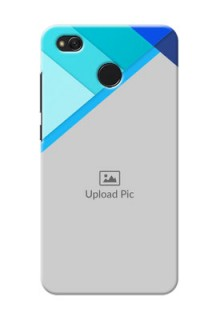 Xiaomi Redmi 4 Blue Abstract Mobile Cover Design