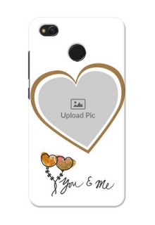 Xiaomi Redmi 4 You And Me Mobile Back Case Design