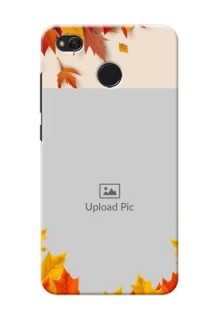 Xiaomi Redmi 4 autumn maple leaves backdrop Design