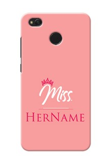 Xiaomi Redmi 4 Custom Phone Case Mrs with Name