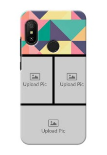 Redmi 6 Pro personalised phone covers: Bulk Pic Upload Design