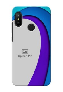 Redmi 6 Pro custom back covers: Simple Pattern Design