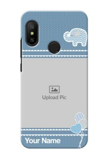 Redmi 6 Pro Custom Phone Covers with Kids Pattern Design