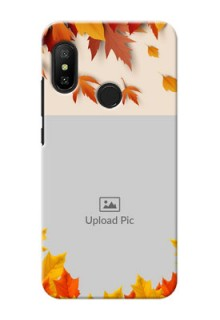 Redmi 6 Pro Mobile Phone Cases: Autumn Maple Leaves Design