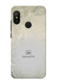 Redmi 6 Pro custom mobile back covers with vintage design