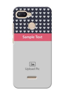 Xiaomi Redmi 6 Custom Mobile Case with Love Symbols Design