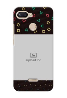 Xiaomi Redmi 6 custom mobile cases with confetti birthday design