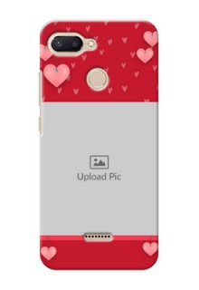 Xiaomi Redmi 6 Mobile Back Covers: Valentines Day Design