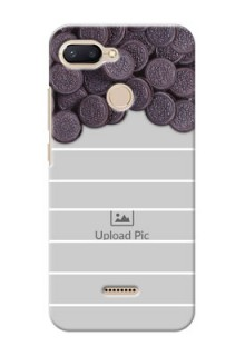 Xiaomi Redmi 6 Custom Mobile Covers with Oreo Biscuit Design