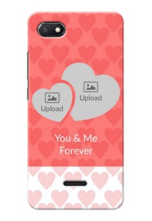 Redmi 6A personalized phone covers: Couple Pic Upload Design