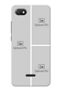 Redmi 6A Custom Mobile Cover: Upload Multiple Picture Design