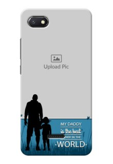 Redmi 6A Personalized Mobile Covers: best dad design