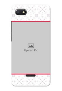 Redmi 6A Phone Cases with Photo and Ethnic Design