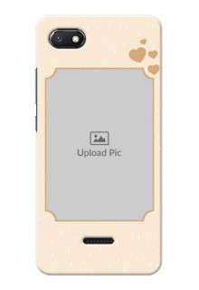 Redmi 6A mobile phone cases with confetti love design