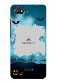 Redmi 6A Personalised Phone Cases: Halloween frame design
