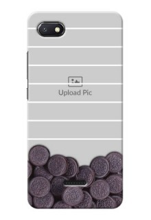 Redmi 6A Custom Mobile Covers with Oreo Biscuit Design