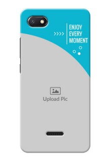 Redmi 6A Personalized Phone Covers: Happy Moment Design