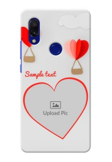 Redmi 7 Phone Covers: Parachute Love Design