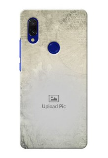 Redmi 7 custom mobile back covers with vintage design